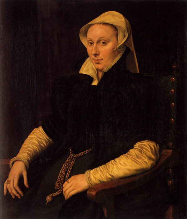 Mor van Dashorst, Anthonis - Anne Fernel, the Wife of Sir Thomas Gresham