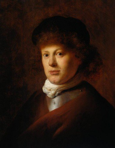 Jan Lievens - Portrait of Rembrandt van Rijn
