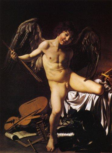Caravaggio - Cupid