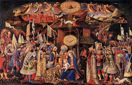 Antonio Vivarini - Adoration of the Magi