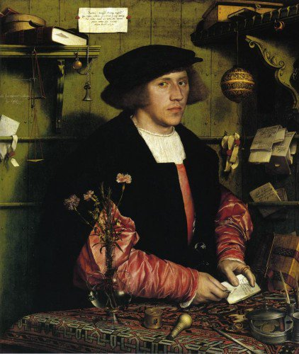 Hans Holbein the Younger - Portrait of the Merchant Georg Gisze