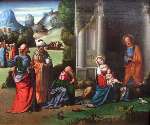 Il Garofalo - Adoration of he Magi