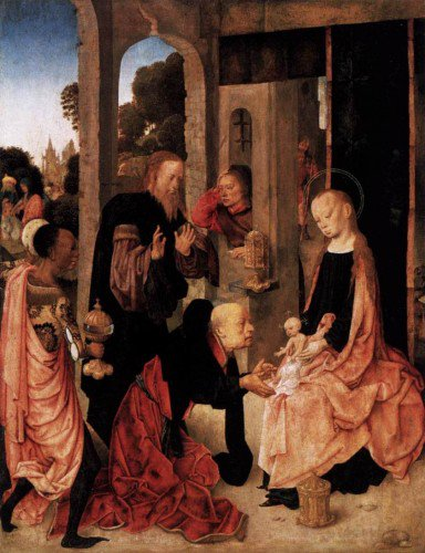 Master of the Virgo inter Virgines - Adoration of the Magi