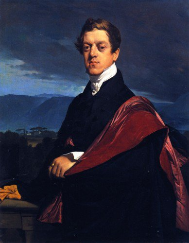 Jean-Auguste-Dominique Ingres - Count Nikolai Dmitrievich Gouriev