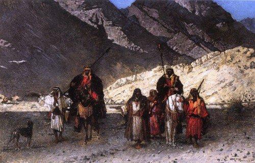 Léon Joseph Florentin Bonnat - In the Mountains