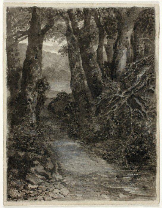 Palmer, Samuel - A Woodland Study