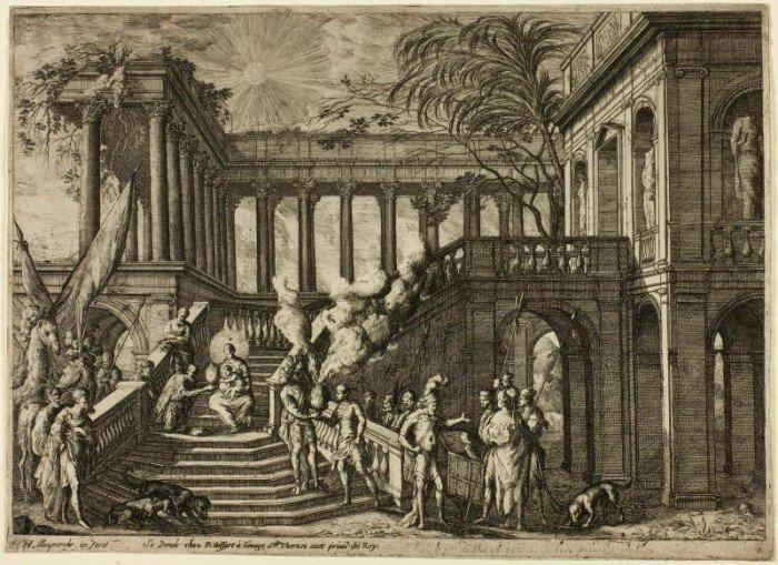 Mauperché, Henri - Adoration of the Magi