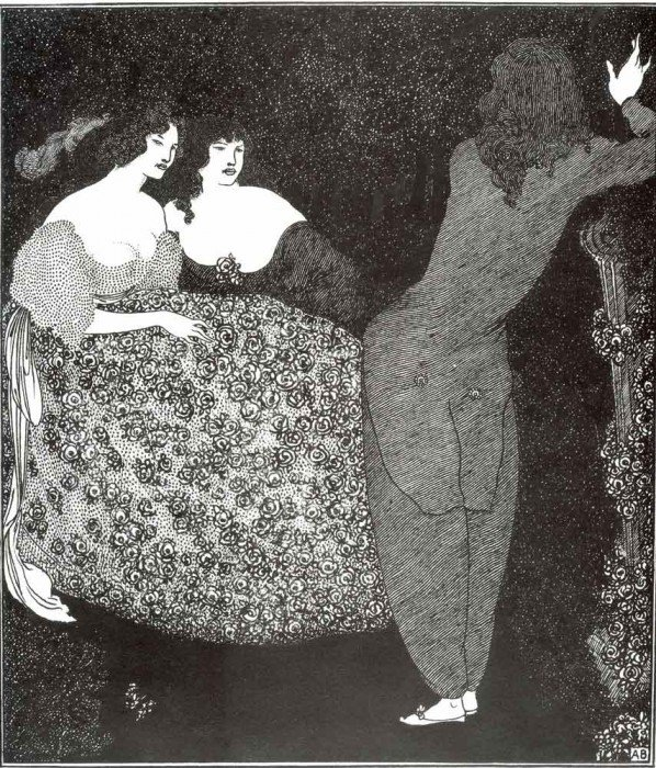 """Beardsley, Aubrey Vincent - """"A Repetition of Tristan und Isolde'""""'"""""""""""
