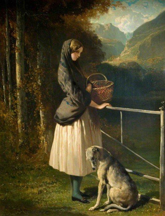 Dedreux, Alfred - A Scottish Girl