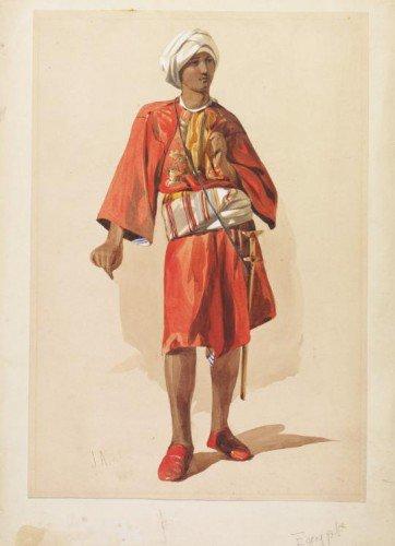 John Absolon - Moroccan Soldier