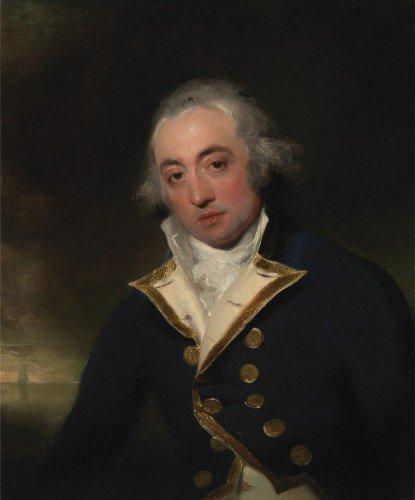 Thomas Lawrence - Admiral John Markham