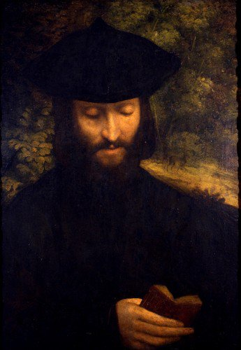 Portrait of a Man with a Book - Correggio | Uart