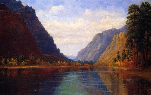 Abby Williams Hill - Clark Fork of the Columbia River, Near Eddy Montana