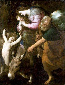 Giovanni Battista Crespi - The Flight into Egypt