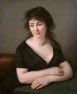 Antoine-Jean Gros - Madame Catherine Bruguière, née Sardon