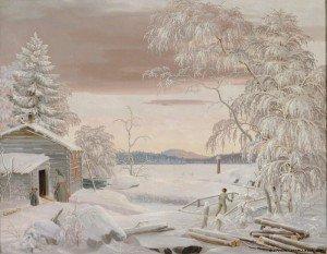 Ferdinand von Wright - Winter Landscape