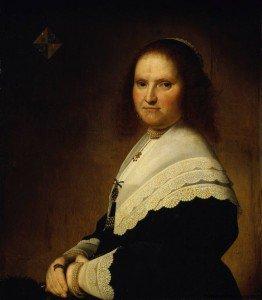 Jan Cornelisz. Verspronck - Anna von Schoonhoven