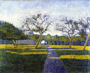 Alfred William Finch - Orchard at La Louviere