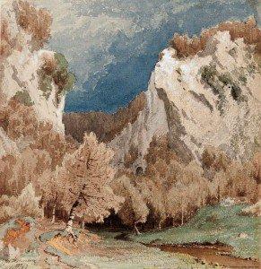 Werner Holmberg - Autumn Landscape Near Düsseldorf