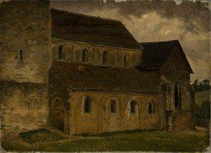 Werner Holmberg - Erkrath Church, study