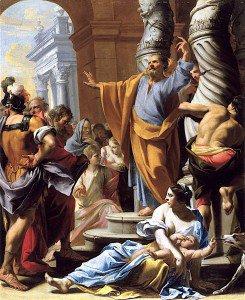 Charles Poërson - St. Peter Preaching in Jerusalem
