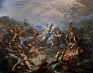 Giacomo Del Po - Camillia at War from Virgil's Aeneid