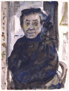 Lovis Corinth - Portrait of an Old Woman