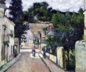 Camille Pissarro - Rue de l'Hermitage, Pontoise