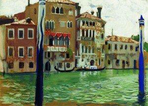 Boris Mikhailovich Kustodiev - Venice