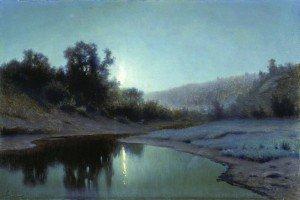Efim Efimovich Volkov - Moonlit Night in the Woods