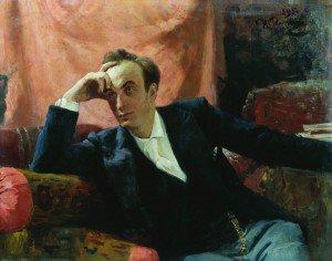 Ilia Efimovich Repin - Portrait of Actor Grigory  Ghe