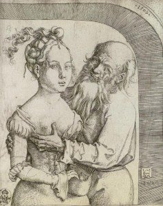 Hans Baldung - The Ill-Matched Couple