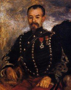 Pierre Auguste Renoir - Captain Edouard Bernier