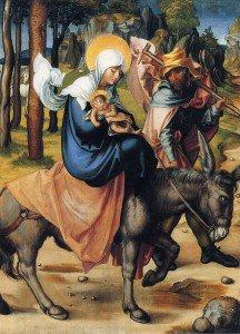 Albrecht Dürer - The Flight into Egypt
