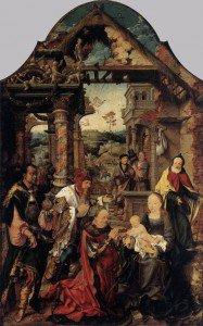 Joos van Cleve - Adoration of the Magi