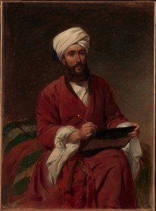 Frederick Goodall - William Edward Dighton (1822-1853) in Middle Eastern Dress