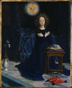 Gheeraert (Gerard) David - The Annunciation