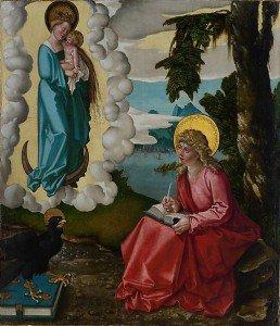 Hans Baldung - Saint John on Patmos
