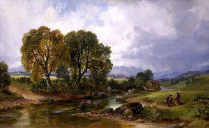 Arthur Perigal the Younger - A Highland Stream
