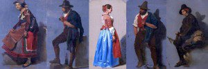 Thomas Stuart Smith - Five Studies of Italian Characters