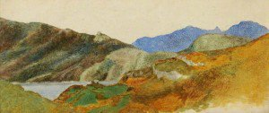 George Frederic Watts - Mountain Landscape