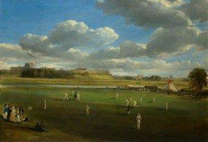 Samuel Bough - Cricket Match at Edenside, Carlisle