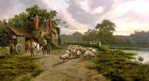 Thomas Creswick - The Smithy