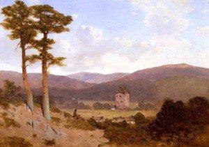 William James Blacklock - Gilnockie Tower
