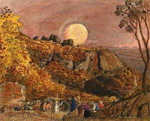 Samuel Palmer - Harvest Moon, Shoreham