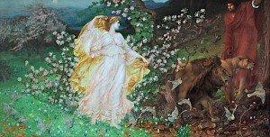 Sir William Blake Richmond - Venus and Anchises