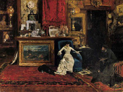 Chase, William Merritt - The Tenth Street Studio (Interior of the Artist's Studio)