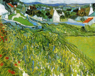 Gogh, Vincent van - Vineyards with a View of Auvers
