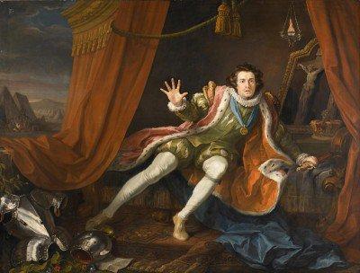 Hogarth, William - David Garrick as Richard III