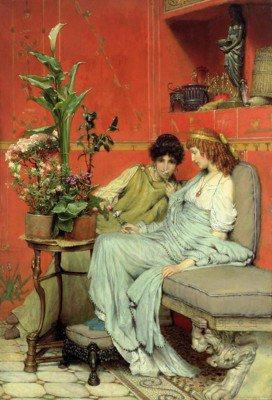 Alma-Tadema, Lawrence - Confidences